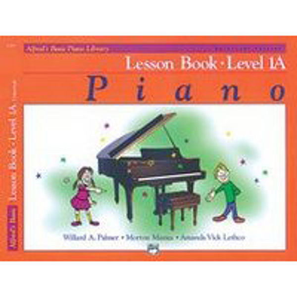 Alfreds Basic Piano Library Lesson book Level 1A Bk/CD