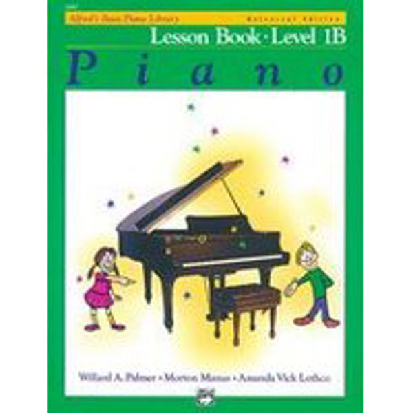 Alfreds Basic Piano Library Lesson book Level 1B