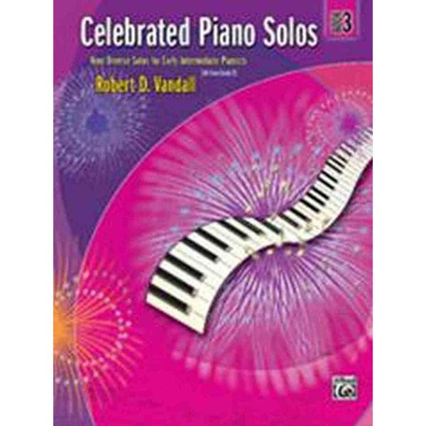 Celebrated Piano Solos Book 3, Robert Vandall