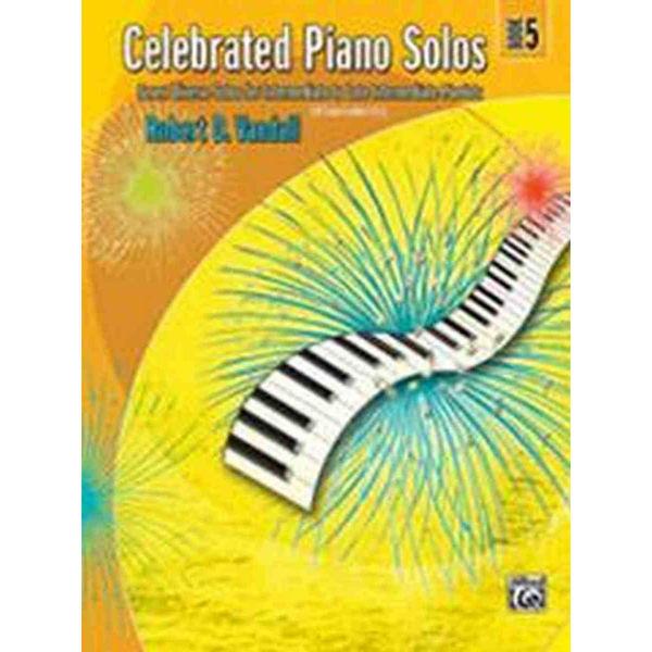Celebrated Piano Solos Book 5, Robert Vandall