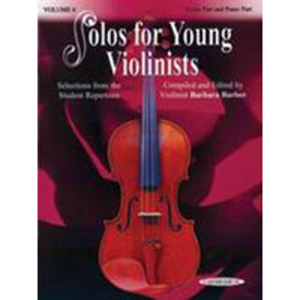 Solos for Young Violinists Vol. 6 Violin and Piano