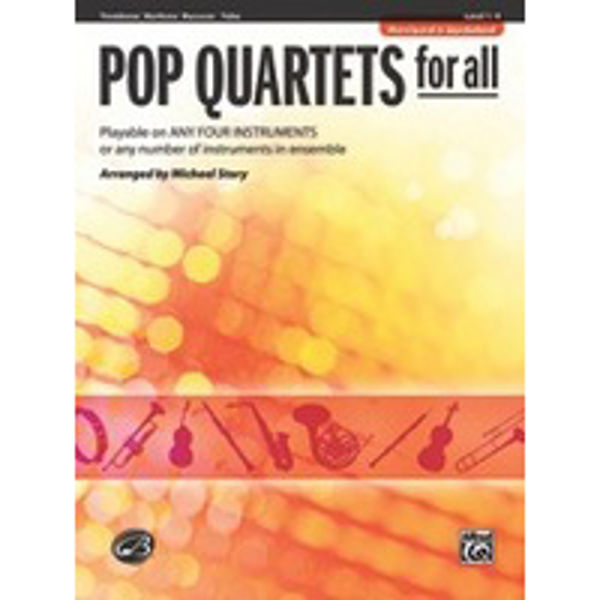Pop quartets for all Trombone/Euphonium/Bassoon/Tuba