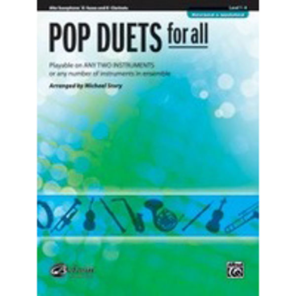 Pop duets for all Alt-Sax