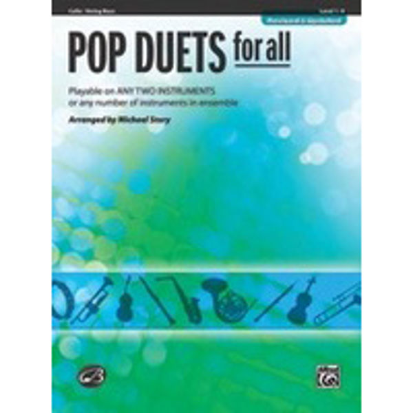 Pop duets for all Cello/Bass