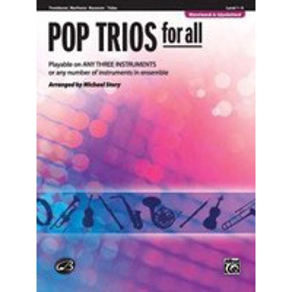 Pop trios for all Trombone/Euphonium/Bassoon/Tuba