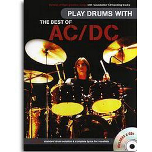 Play Drums With AC/DC, The Best Of, m/CD