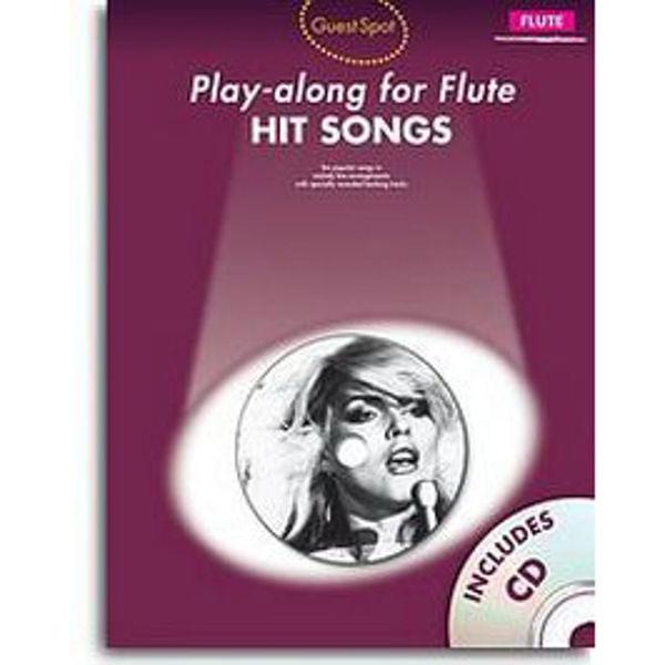 Play-along for Flute - HIT SONGS m/cd