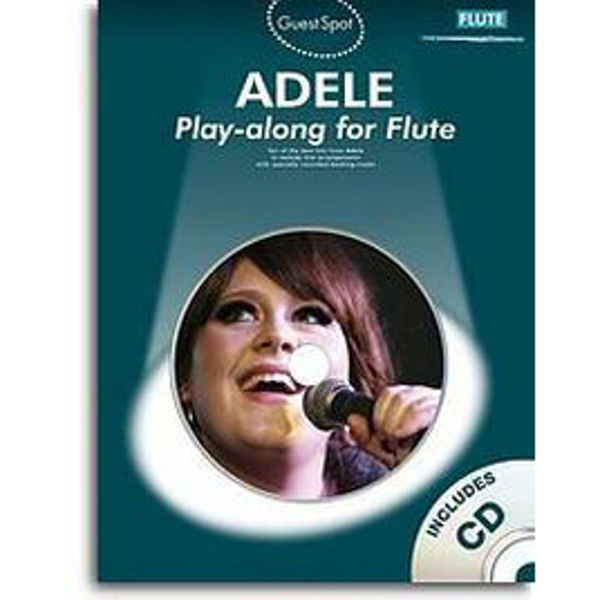 Guest Spot - Adele Play-along for Flute, Book with CD