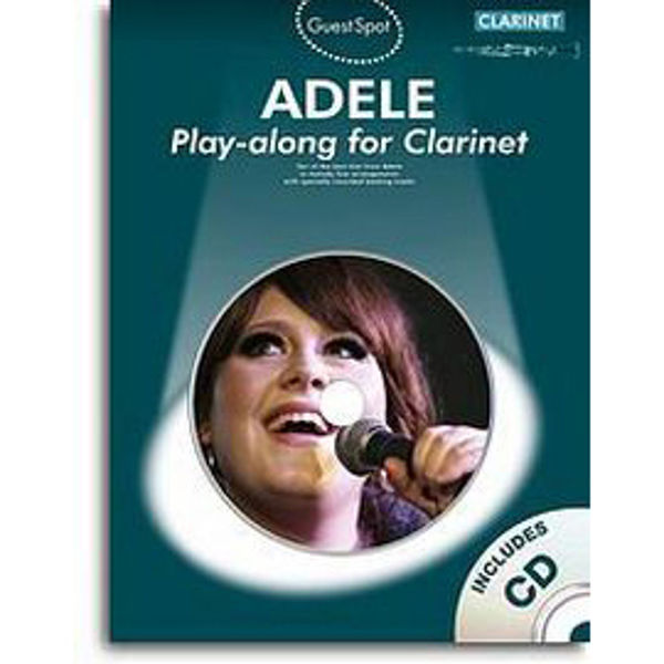 Adele Play-along for Clarinet m/cd