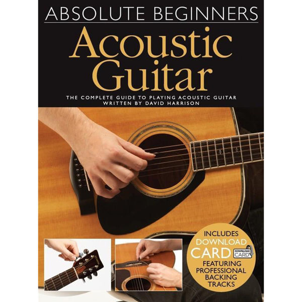 Absolute Beginners: Acoustic Guitar (Download Card)