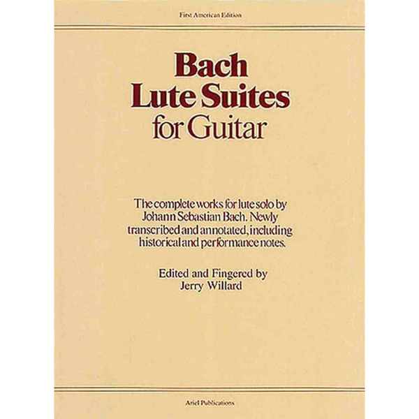 Lute Suites for Guitar - Bach