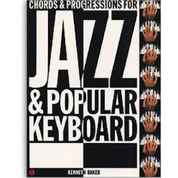 Definitive chord book for jazz and popular organ