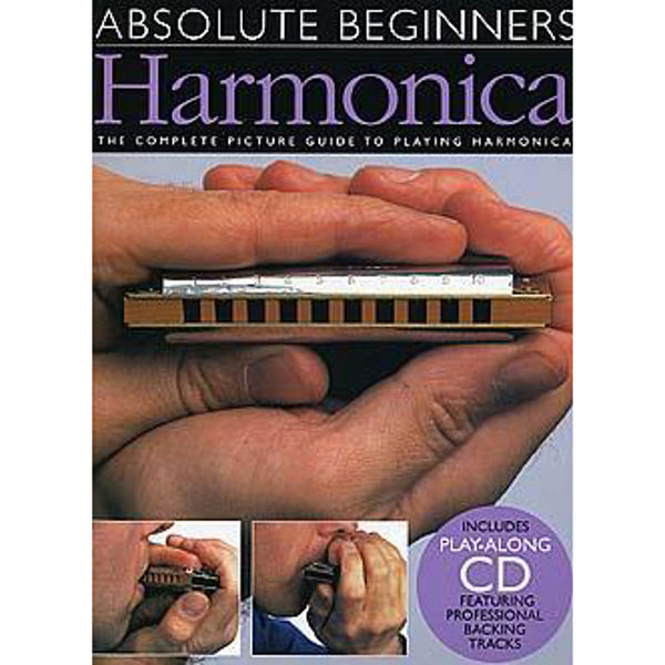Absolute Beginners: Harmonica Book and CD
