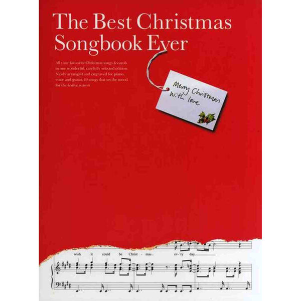 The Best Christmas Songbook Ever, PVG