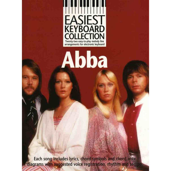 Abba Gold - Easiest Keyboard Collection