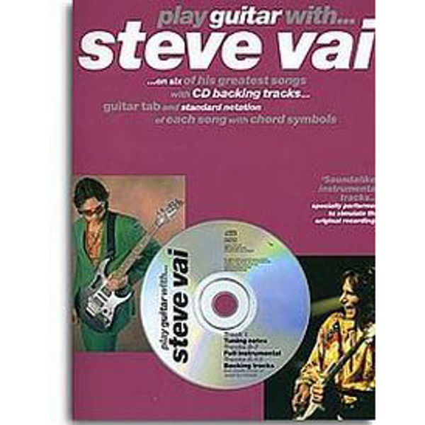 Play Guitar With Steve Vai (TAB) m/CD