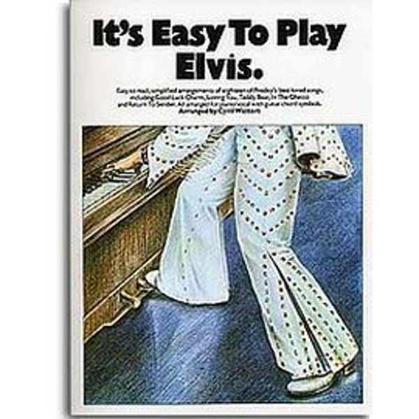 It's Easy To Play Elvis - Piano