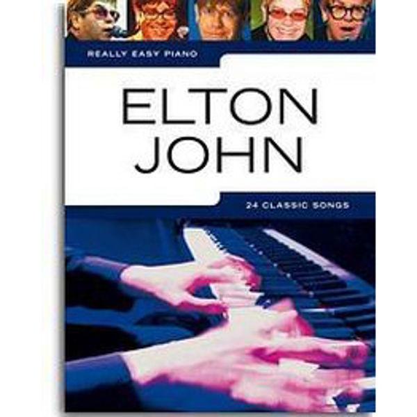 Really Easy Piano Elton John 24 Great hits