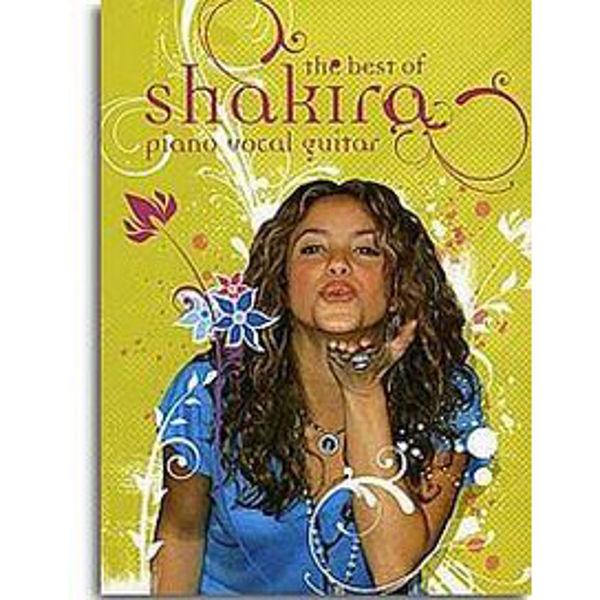 The Best Of Shakira - Piano/Vokal/Gitar