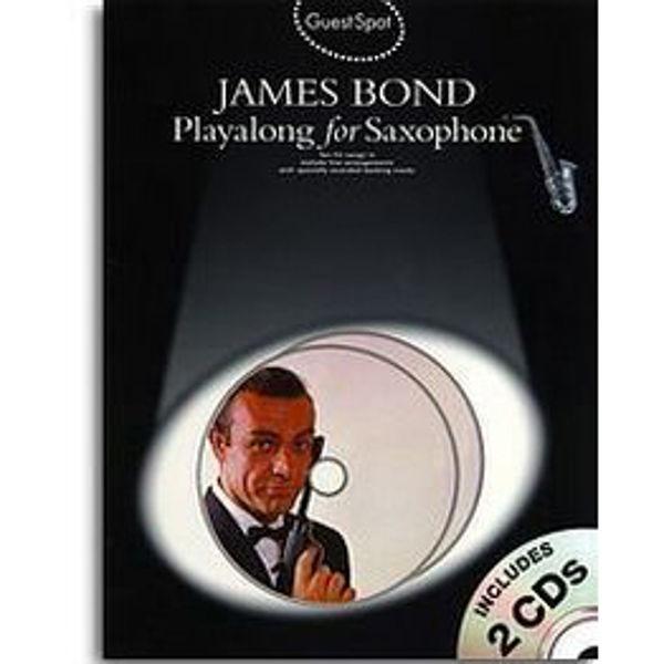 Guest Spot James Bond altsax m/cd
