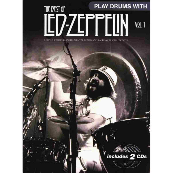 Play Drums With Led Zeppelin, The Best Of m/CD