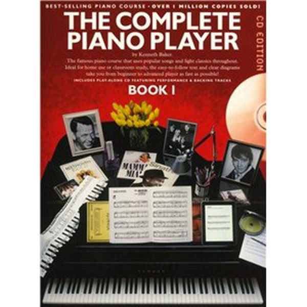 Complete Piano Player 1 Book and CD Edition