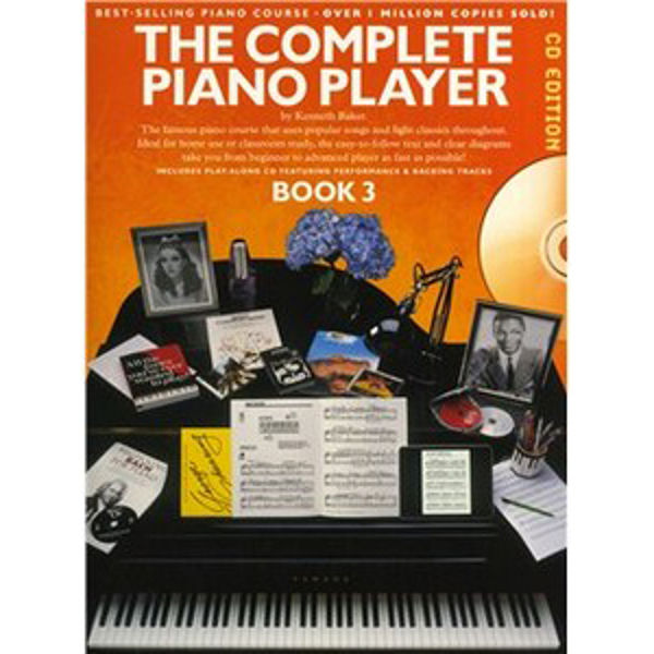 Complete Piano Player 3 Book and CD Edition