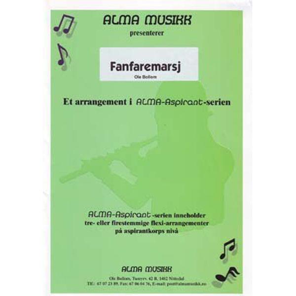 Fanfaremarsj -  Alma Aspirantserie