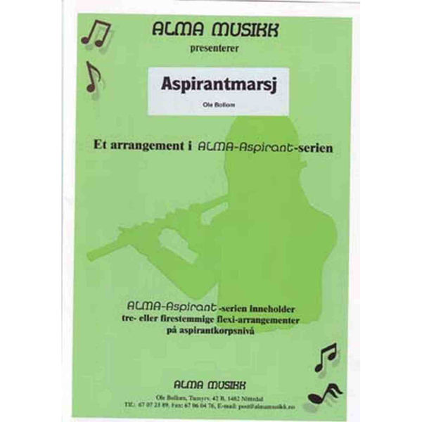 Aspirantmarsj - Alma Aspirantserie