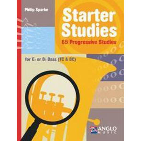 Starter Studies, Tuba Eb/Bb - TC/BC. 65 progressiv studies. Philip Sparke