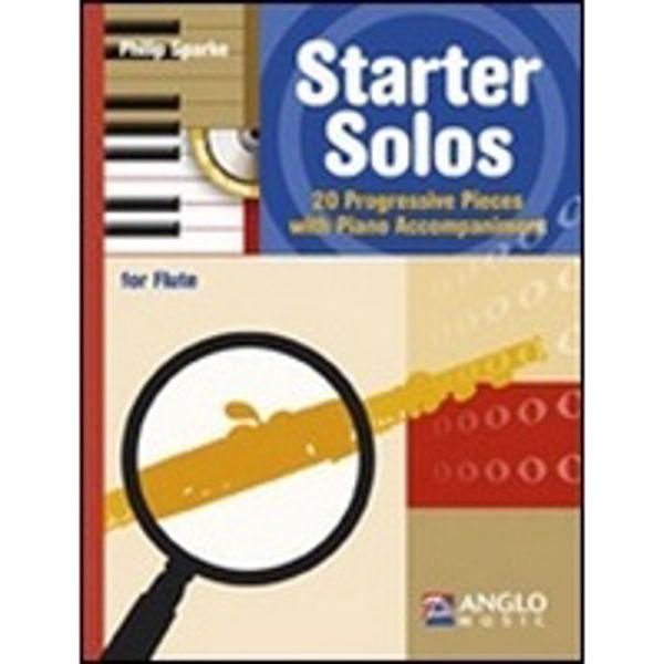 Starter Solos. Flute. Book/CD. 20 progressive pieces. Philip Sparke