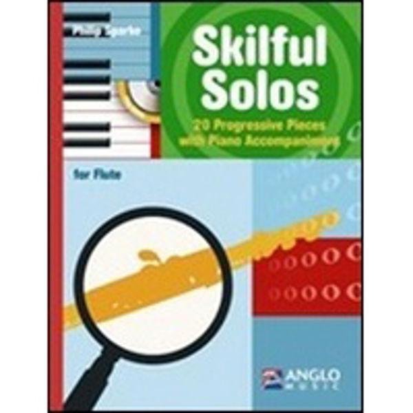 Skilful Solos Flute, 20 progressive pieces, Philip Sparke