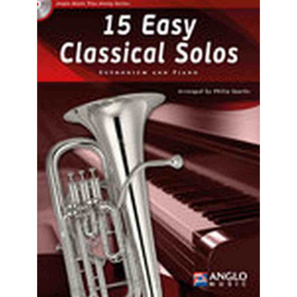 15 Easy Classical Solos for Euphonium and Piano