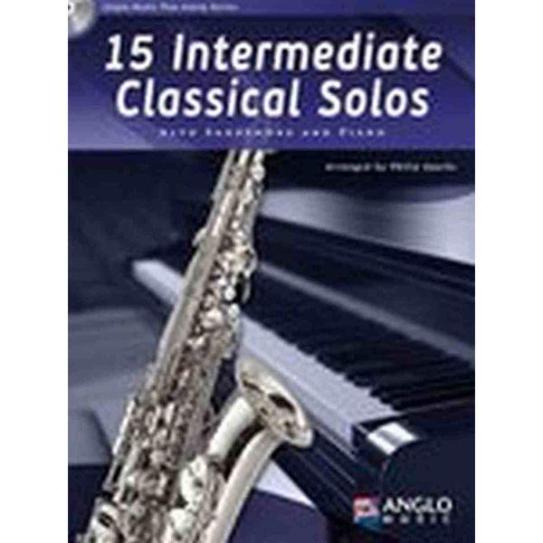 15 Intermediate Classical Solos for Alto Saxophone and Piano