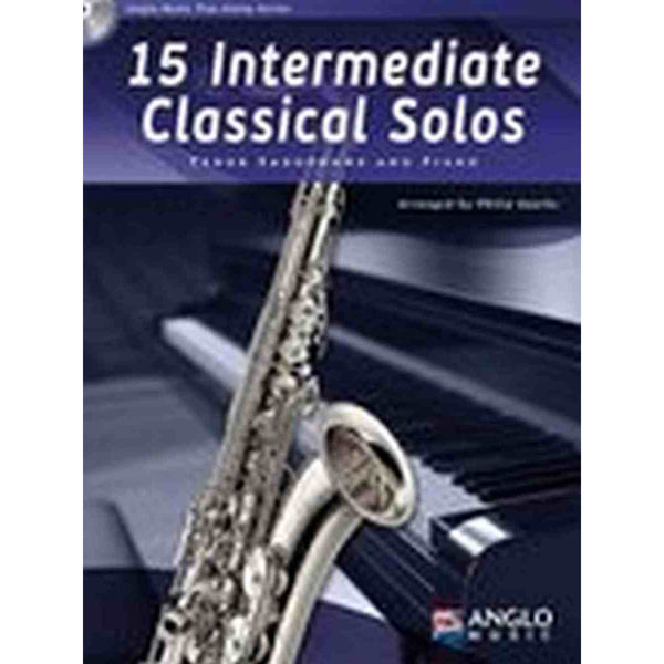 15 Intermediate Classical Solos for Tenor Saxophone and Piano