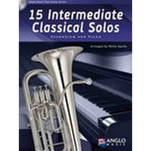 15 Intermediate Classical Solos for Euphonium and Piano