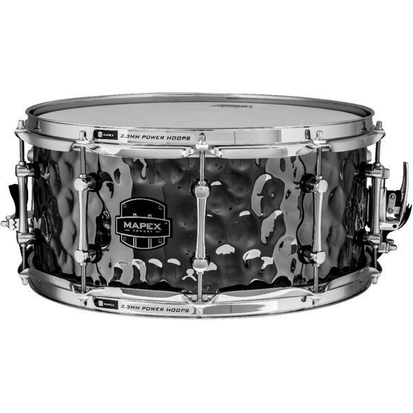 Skarptromme Mapex ARST465HCEB, Armory Daisy Cutter, Steel Hammered, 14x6,5