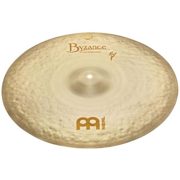 Cymbal Meinl Byzance Vintage Sand Crash, Medium 18, Benny Greb