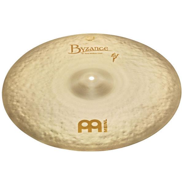Cymbal Meinl Byzance Vintage Sand Crash, Thin 18, Benny Greb