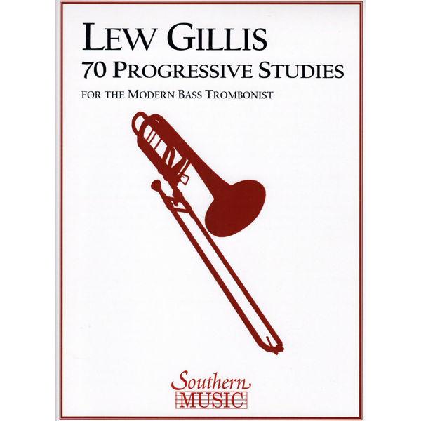 70 progressive studies for modern bass trombonist Lew Gillis