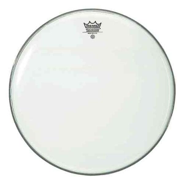 Trommeskinn Remo Ambassador, BA-0218-00, Smooth White 18