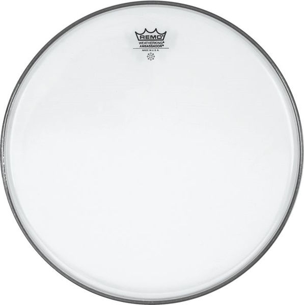 Trommeskinn Remo Ambassador, BA-0312-00, Clear 12
