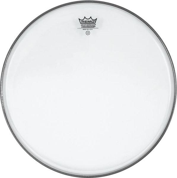 Trommeskinn Remo Ambassador, BA-0313-00, Clear 13