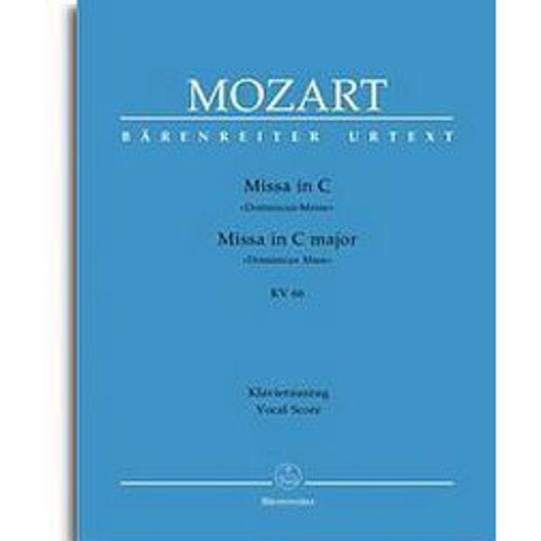 Mozart - Missa in C - KV 66