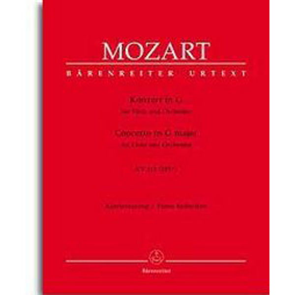 Mozart - Concert in G for Flute and Orchestra KV 313 (285C). Pianoreduction
