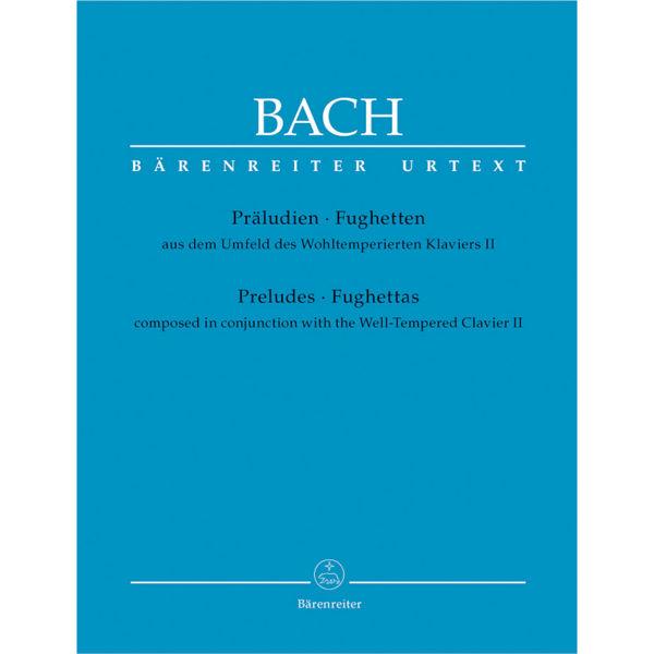 Präludien - Fughetten (Preludes - Fughettas), J.S. Bach - Piano