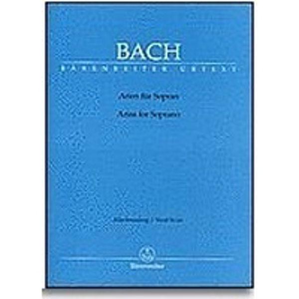 J.S Bach - Arias for Soprano - Accompanying Brochure