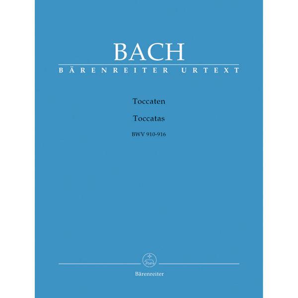 Toccaten / Toccatas BWV 910-916, Bach - Piano