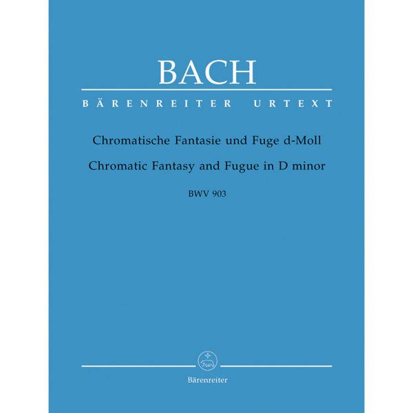 Chromatische Fantasie und Fuge d-Moll BWV 903, Bach - Piano