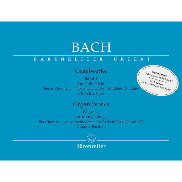 Bach: Organ Works Vol. 1 Little Organ Book (Orgelbüchlein)